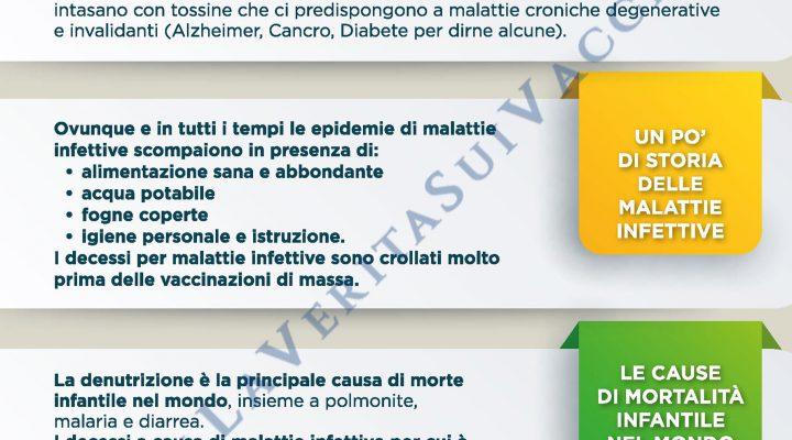 Vaccini sì o no? Pagina 3 dell'opuscolo