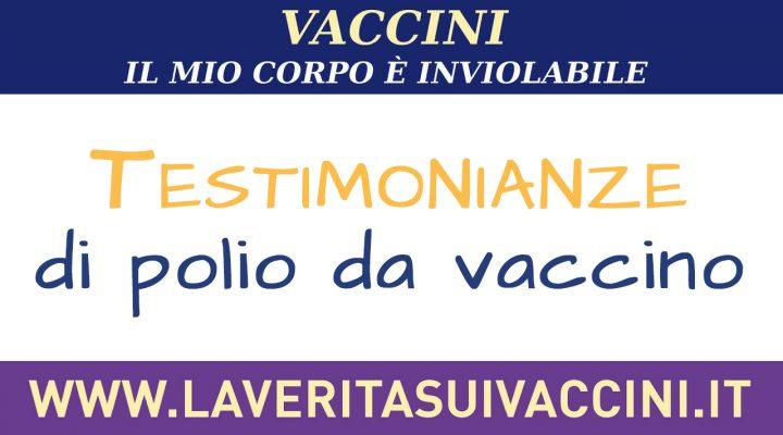 Testimonianze di polio da vaccino