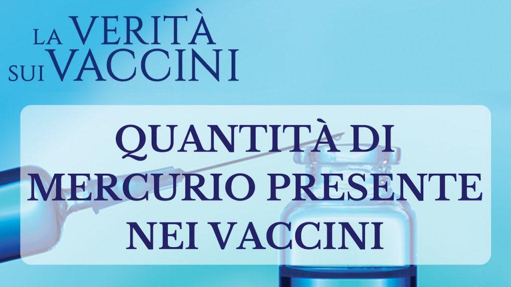 C'è Mercurio nei vaccini? Ne parla Giorgio Rosso